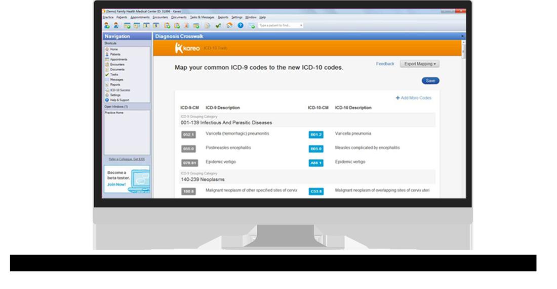 ICD-10 Product Readiness | Kareo