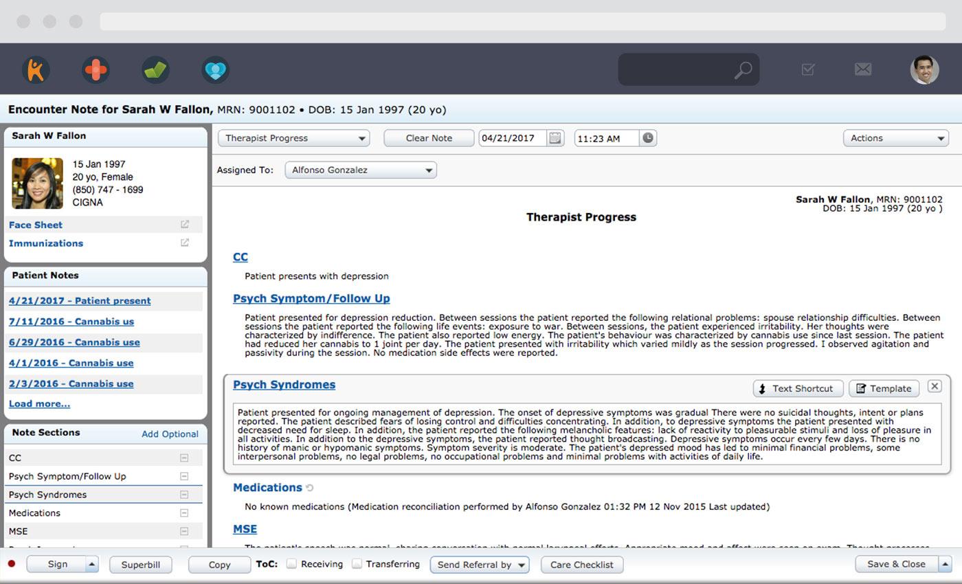 Mental Health EHR Software & Billing Service | Kareo
